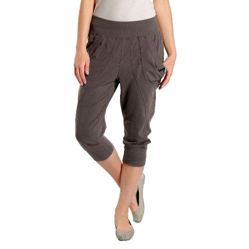 Womens Lole Lotus Capri Pants - Storm XS