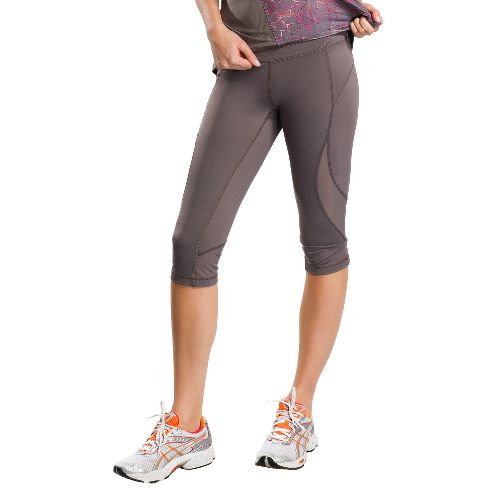 Womens Lole Run Capri Tights - Storm S
