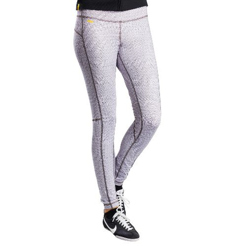 Womens Lole Glorious Legging Fitted Tights - White Yurt XL