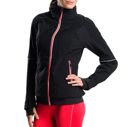 Womens Lole Fastness 3 Running Jackets - Black XS