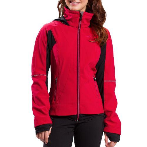 Womens Lole Fastness 3 Running Jackets - Crimson XL
