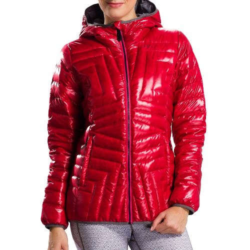 Womens Lole Elena 2 Jacket Outerwear Jackets - Crimson XS