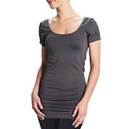 Womens Lole Limber Tunic Short Sleeve Technical Tops