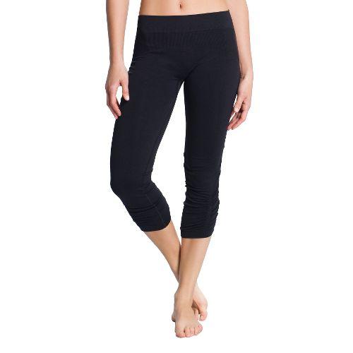 Womens Lole Stylish Legging Capri Tights - Black L/XL