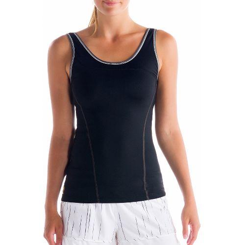 Womens Lole Silhouette Up Tank Sport Top Bras - Black XS