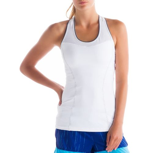 Womens Lole Central 2 Tank Sport Top Bras - White S