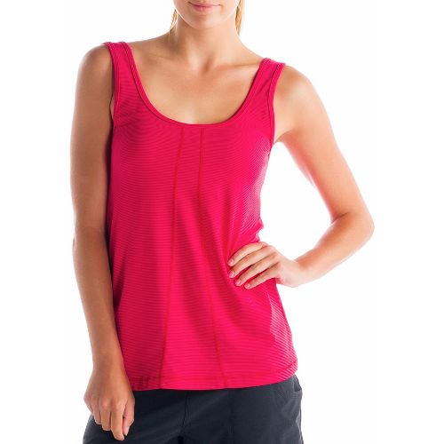Womens Lole Fancy Tanks Technical Tops - Pomegranate XS