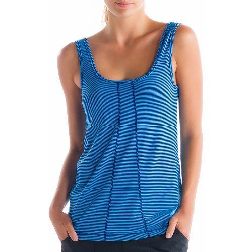 Womens Lole Fancy Tanks Technical Tops - Solidate Blue M