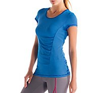 Womens Lole Curl Short Sleeve Technical Tops