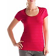 Womens Lole Cardio 2 Short Sleeve Technical Tops