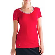 Womens Lole Smash Short Sleeve Technical Tops