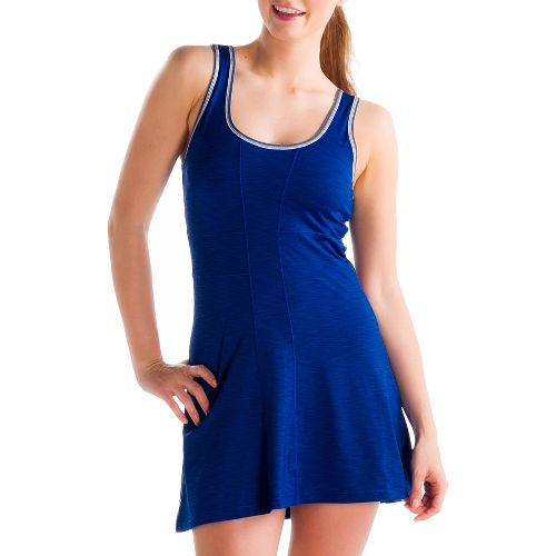 Womens Lole Authentic 2 Dress Fitness Skirts - Solidate Blue M
