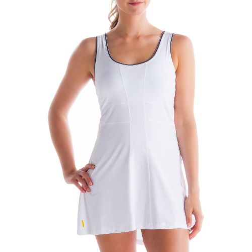 Womens Lole Authentic 2 Dress Fitness Skirts - White XS