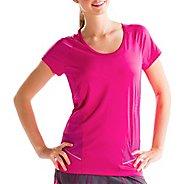 Womens Lole Marathon Short Sleeve Technical Tops