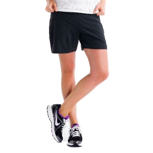 Womens Lole Movement Unlined Shorts - Black XS