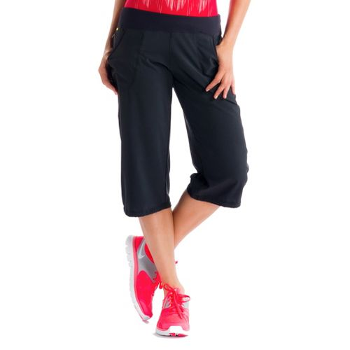 Womens Lole Romp Capri Pants - Black XS