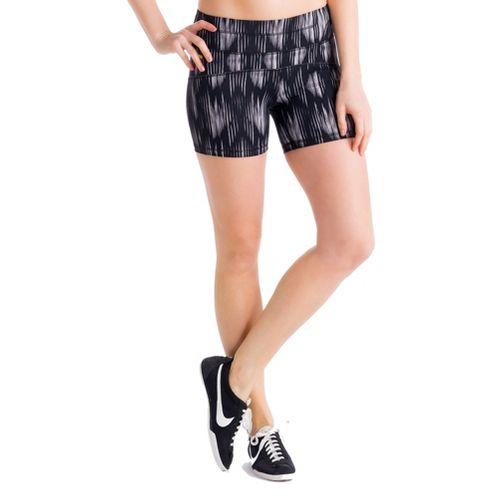 Womens Lole Balance Unlined Shorts - Black/Azteck XL