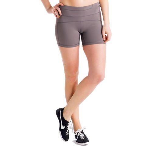 Womens Lole Balance Unlined Shorts - Storm M