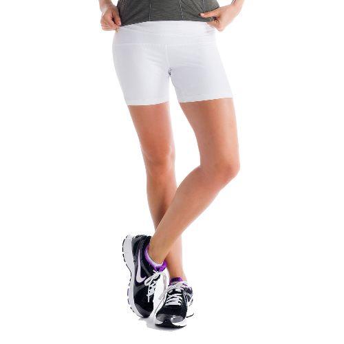 Womens Lole Balance Unlined Shorts - White XS
