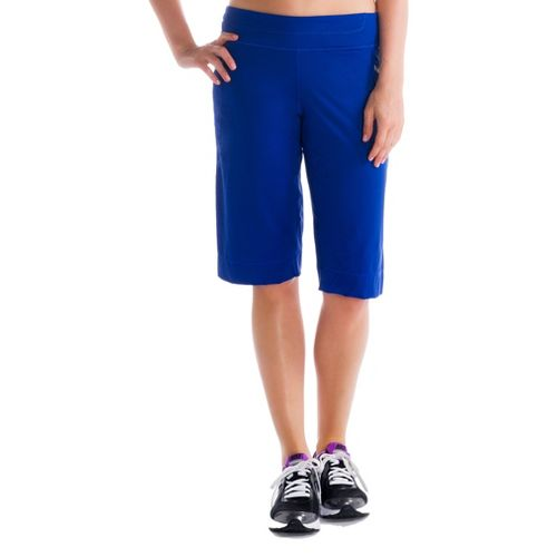 Womens Lole Circuit Unlined Shorts - Solidate Blue XL