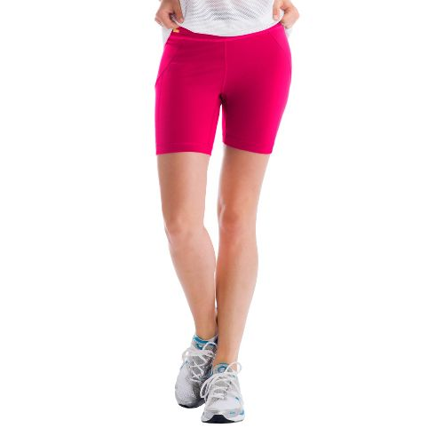 Womens Lole Lively Fitted Shorts - Red Sea L