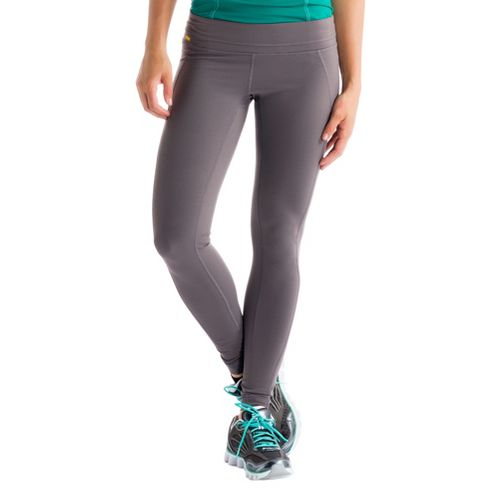 Womens Lole Motion Legging Fitted Tights - Storm L