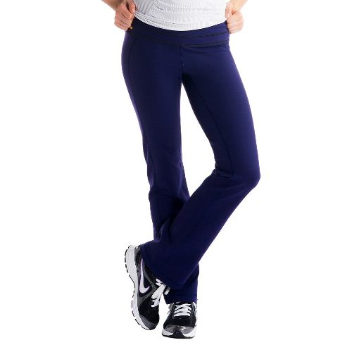 Womens Lole Motion Full Length Pants - Evening Blue L