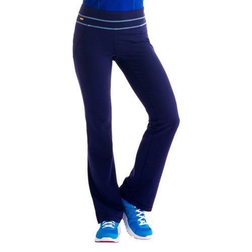 Womens Lole Lively Full Length Pants - Evening Blue S