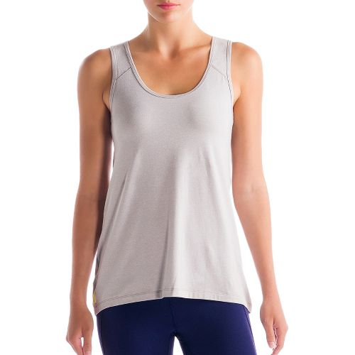 Womens Lole Savasana 2 Tanks Technical Tops - Warm Grey L