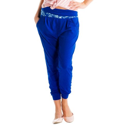 Womens Lole Padmasana Full Length Pants - True Blue S