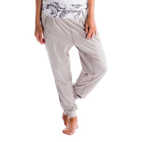 Womens Lole Padmasana Full Length Pants - Warm Grey XL