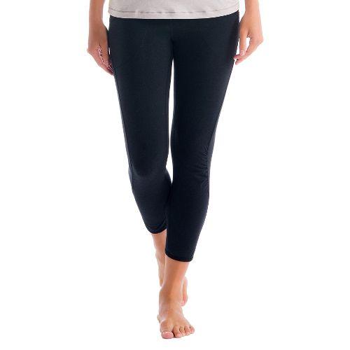 Womens Lole Shiva Capri Tights - Black XL