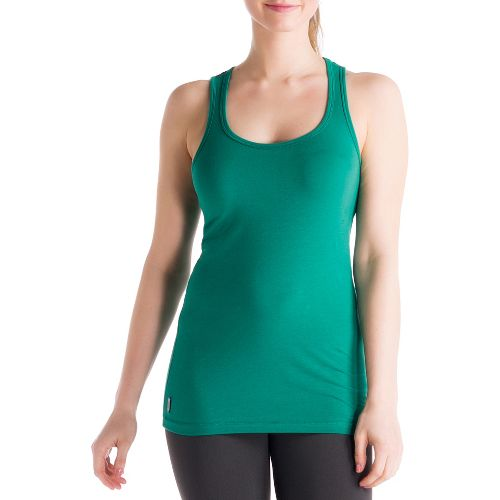Womens Lole Pinnacle Tanks Technical Tops - Glade Green S