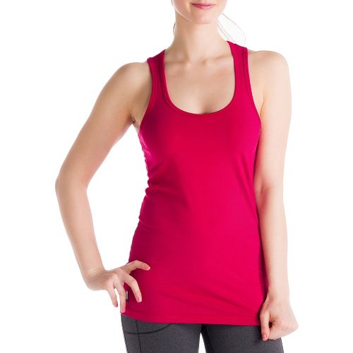 Womens Lole Pinnacle Tanks Technical Tops - Guava M