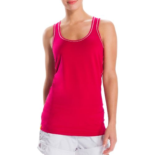 Womens Lole Pinnacle Tanks Technical Tops - Red Sea XS