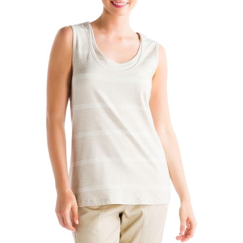 Womens Lole Hug Sleeveless Technical Tops - Mineral S
