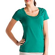 Womens Lole Kiss Short Sleeve Technical Tops