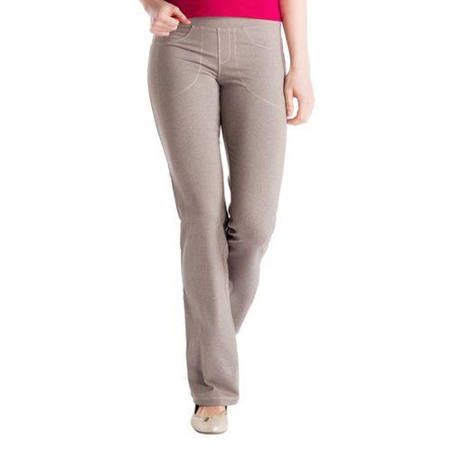 Womens Lole Jet Full Length Pants - Drift Wood L