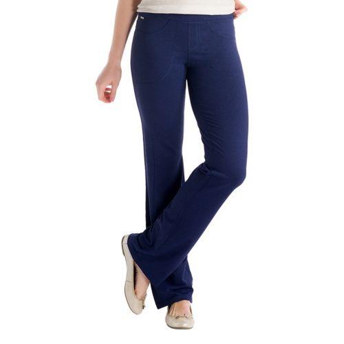 Womens Lole Jet Full Length Pants - Evening Blue XS