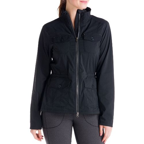 Womens Lole Postcard Outerwear Jackets - Black XL