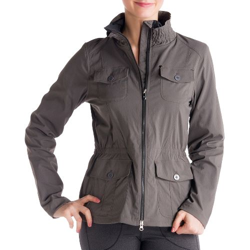 Womens Lole Postcard Outerwear Jackets - Storm XL