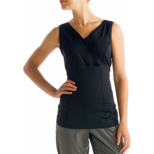 Womens Lole Sienna Tank Sleeveless Technical Tops - Black L