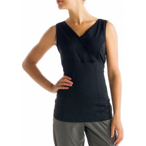 Womens Lole Sienna Tank Sleeveless Technical Tops - Black XL