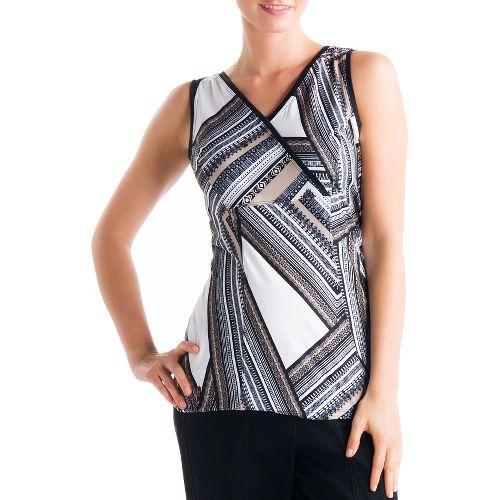 Womens Lole Sienna Tank Sleeveless Technical Tops - White XL