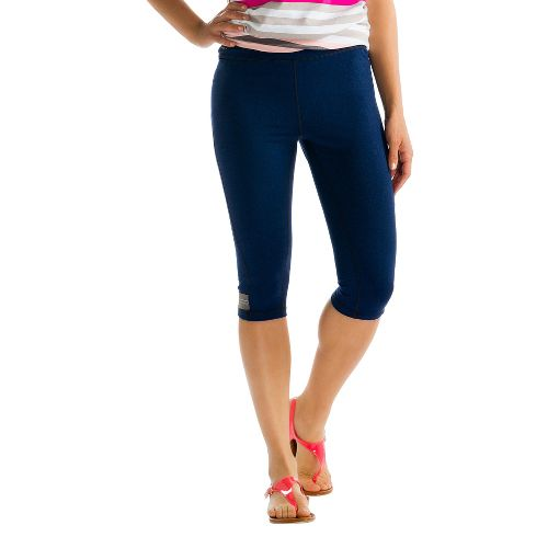 Womens Lole Seattle Capri Tights - Evening Blue L