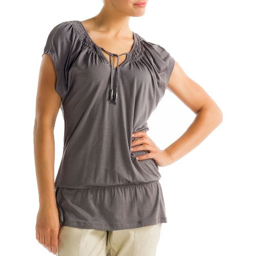 Womens Lole Ibiza Short Sleeve Technical Tops - Storm L