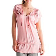 Womens Lole Ibiza Short Sleeve Technical Tops