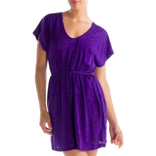 Womens Lole Rumba 2 Dress Fitness Skirts - Island Purple XL