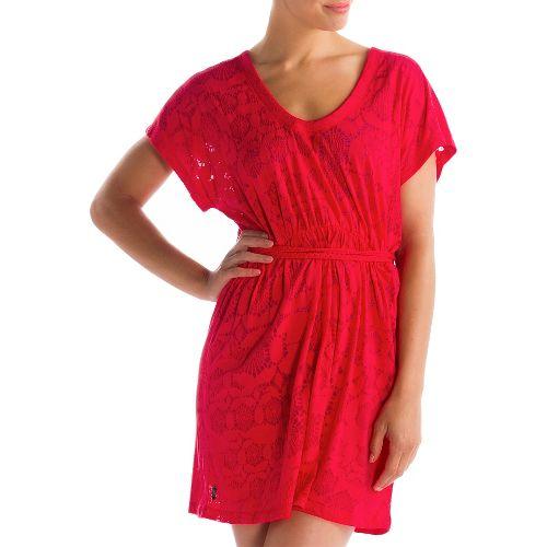 Womens Lole Rumba 2 Dress Fitness Skirts - Pomegranate XS