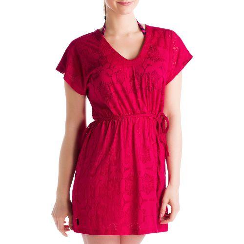 Womens Lole Rumba 2 Dress Fitness Skirts - Red Sea M